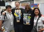 Me with Kurtis Fujita, Larry Welch, and Diana Fujita.